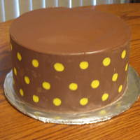 Chocolate!  This is a cake I had been wanting to make. It is a Banana flavored cake, with chocolate filling. Then I applied a Chocolate wrap to the...