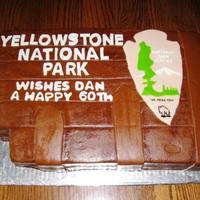 Yellowstone Wished Dan A....   Chocolate cake with chocolate MMF.