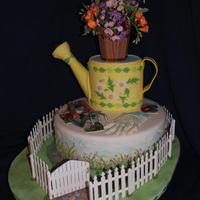 My Fantasy Garden I entered this cake into the Michigan Sugar Art Showcase Competition March 20-21, 2010. Having never competited before I had no...