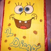 Spongebob Two 11x15 cakes. All in BC. It was a lot of fun to do ...Thank you for all the inspiration