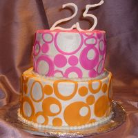 Colors Buttercream and MMF decorations, the #25 made it with royal icing.