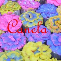 Flower Cupcakes Almond cake, raspberry filling with BC flowers. I made 120 of this for my daughters Motherâs Day daycare festival. I saw them on...