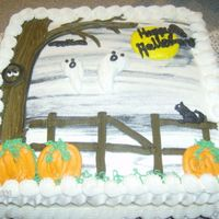 Halloween Ghosts  This is from another CC photo and I made it for a friend who wanted another one made for her sons Halloween party at school. Boxed...