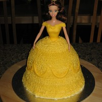 Belle A Princess Belle cake for a special little girl's 4th birthday