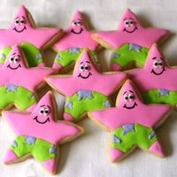 Patrick Star  I'm trying to learn how to do cookies and taking every chance I have to practice. I found these adorable guys in the gallery posted by...