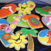 Summer Fun  I made three trays of these cookies for the staff at my kids' school. They were so excited and thankful. They are NFSC with Antonia&#...