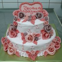 All My Love Cake for the first anniversary of wedding