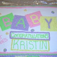 Baby Shower all buttercream
