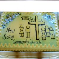 Church Grand Opening A friend of my son's started their own non-denominational church. In the beginning, they held services in a high school auditorium....