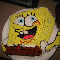 Spongebob My frist cake ever