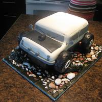 4X4 wish i could've made the cab higher on this but i ran out of cake!