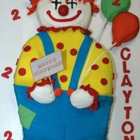 3 Foot Clown This clown is 3 foot tall.