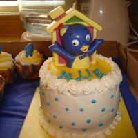 Smash Cake For Backyardigans Cake