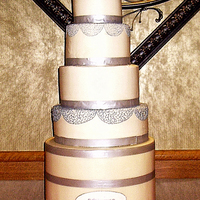 Stanley Cup I named this the feminized Stanley Cup, lol. The Groom wanted the Stanley Cup and the Bride added her touches to it. The bottom is all...