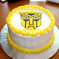 Transformers FCFK cake for a little boy's 9th birthday. He went screaming with excitement when he saw it. Mom cried happy tears :)