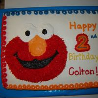 Elmo Just simple Elmo for a child's birthday