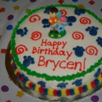 Blue's Clues We had a Nick Jr. party that day... again, just a simple cake.