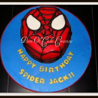 Spidee Power This was for a little boy's 4th birthday and he is obsessed with spiderman. Hopefully he loved it :)