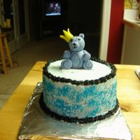 Baby Smash Cake smash cake to go with prince cake. Bear in MMF