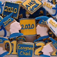 Graduation Cookies I made these for a graduation party this past weekend. TFL