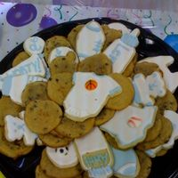 It's A Boy! Made cookies for my friend's sports themed baby shower at work. Thanks for looking!
