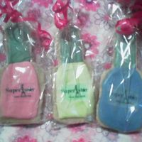 Nail Polish Cookies Sugar cookies with r.i. and an edible image logo. Thanks for looking!