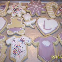 Baby Shower These were for a baby shower for a co-worker.