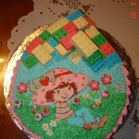 Strawberry Shortcake Lego Cake This is cake I made for brother and sister's birthday. It's chocolate cake, and for girl there is FBCT Strawberry Shortcake with...