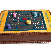 Game Cake Chocolate cake, BC and Fondant decorations