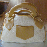 Purse My first purse cake Just do cakes as a hobby