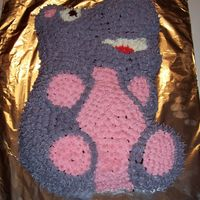 Happy Hippo Denise's Birthday Cake