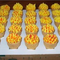 Olympic Torch Parade Cupcakes In A Ice Cream Cone