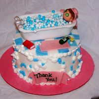 Teacher Thank You 2 Buttercream, fondant accents. Ideas from everyone.