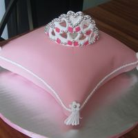 Princess Pillow Cake I made this cake for a friend's birthday. The party was a princess theme, pretty funny for adults! It's a buttery yellow cake,...