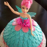 Fairy Cake is a doll (without legs), vainilla flavor and fondant accents