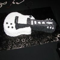 Guitar This was for a Groom's cake. I copied the Groom's guitar.