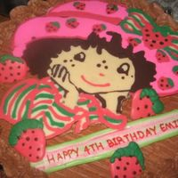 Strawberry Shortcake My 1st chocolate transfer. NEVER,NEVER,NEVER again! Know matter what I did I still ended up with holes.