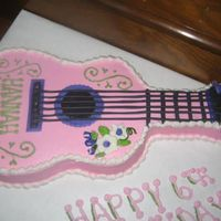 Hannah Montana Guitar I need to thank Jamiet. I literally copied her guitar. A little girl saw a picture of your cake and she wanted it exactly like yours. I...