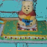 Pooh's Picnic This is one of my personal favorites, I did this for a joint birthday party for my son and 2 nephews who's birthdays are all in march...