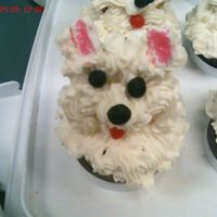 Pupcake I made these for my boss's birthday, she has two Westies and these were a big hit. It took a lot more time that I thought it would to...