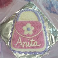 Purse Cake Here is the cake I made for my daugher's 5th Birthday. This is one of two cakes that I made for her.
