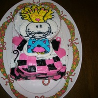 Babymouse!   BabyMouse! Birthday Cake for my 9 year old!!
