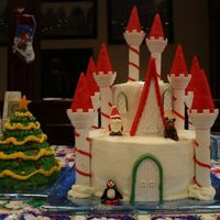 Christmas Castle For a Children's Xmas party, Santa's Castle and A Large XMAS Tree!