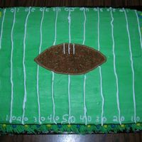 Michigan Football Cake did this white 9x13 for a michigan/ohio state party.