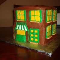 Back View Of Sesame Street Cake