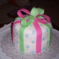 Present Cake Just a fun cake for a friend