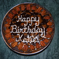 Turtle Cheesecake Birthday Cake