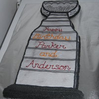 Huge Stanley Cup Birthday Cake