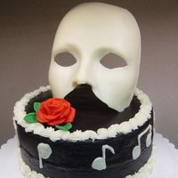 Phantom Of The Opera  I made this for my mom's birthday. We are both Phantom fans, and I have wanted to do a cake like this for a long time. This is a...