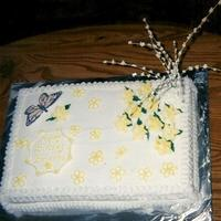 Brianna's 16Th  Granddaughter's 16th b'day cake. Looking through old photos (pre-digitalcamera & compter, found this & others). Vanilla...
